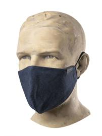 Mondkapje horeca - Easy Blue Denim / hospitality face mask - Chaud Devant