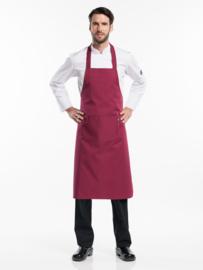 Schort Chaud Devant - Regular Pockets Burgundy W75 - L100
