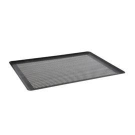 Micro geperforeerde gastronorm schaal / tray aluminium 1/1 GN - De Buyer