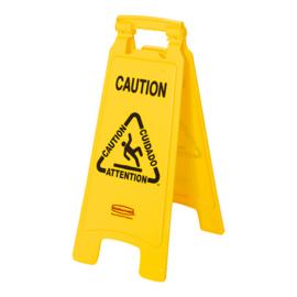 Waarschuwingsbord ''Caution''