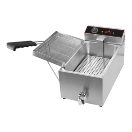 Visbak / oliebollen friteuse - CaterChef - 15 liter