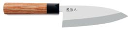 Deba mes 15.5 cm Kai Seki Magoroku Red Wood MGR-155D