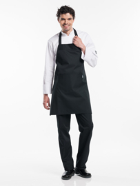 Schort Chaud Devant - Regular Pockets Black W75 - L80