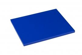Snijplank Polyethyleen blauw - 1/2 - 1/1 GN of 60x40 - met of zonder geul