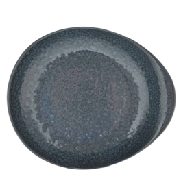Pasta bord Pebble diep 27.5 cm - Continental Moon - Stom Blue