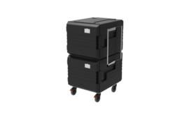 thermoport® 2 x 6000 K zwart verrijdbaar - Rieber