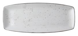 Rustic - schaal curve 35 x 19,5 cm