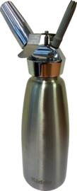Slagroomapparaat Kidde rvs fles 1 liter