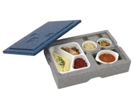 Warmhoudbox - Eurobox voor disposable inzetten