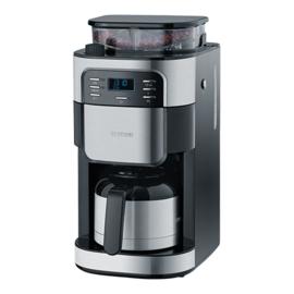 Koffiezetapparaat met koffiemolen - Severin