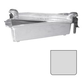 Pate vorm - Gegoten aluminium, vierkant