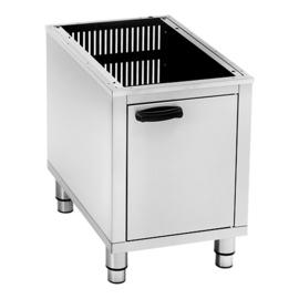 Onderkast rvs tbv Roller Grill 8+8 en 12 liter friteuses (304111 en 304112)