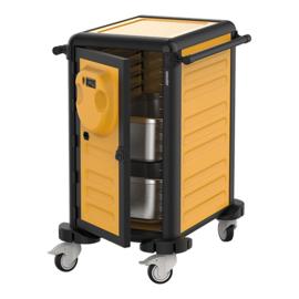 Voedseltransportwagen verwarmd - 15 regalen - CaterChef - Gastrolley