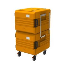 thermoport® 2 x 6000 K oranje verrijdbaar - Rieber