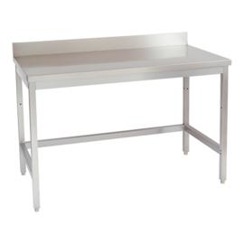 Werktafel - met achteropstand, zonder onderplank