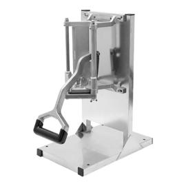 Fritessnijder - tafelmodel op rvs standaard