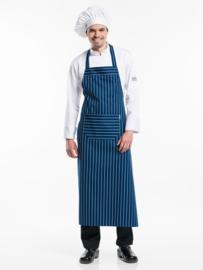 Schort Chaud Devant - BBQ Blue Stripe  W100 - L120