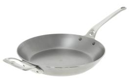 Koekenpan plaatstaal - 32 cm - Mineral B Pro - De Buyer