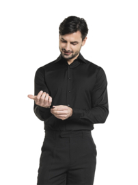 Blouse / shirt Chaud Devant - Men Black Stretch