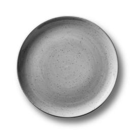 Coup bord plat 17 cm - Continental Rustic grijs