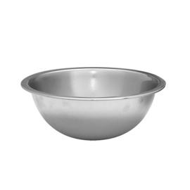 Beslagkom / keukenschaal - Rvs, platte bodem