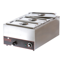 Bain-marie - Cater Chef - 1/1 GN - Type B/C/D/E