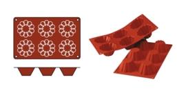 Bakmat 1/3 GN - Briochette - SilikoMart