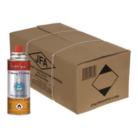 Gasbus voor koksbrander - per stuk of per doos a 28 stuks