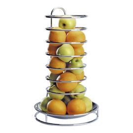 Buffet sinaasappelkorf - verchroomd draad