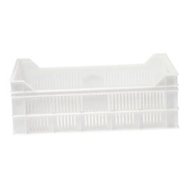 Stapelbak - Kunststof, wit - Open uitvoering - 35 liter