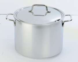 Kookpan Demeyere Apollo hoog model met deksel