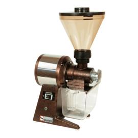Koffiemolen - Santos - roestvrij materiaal, kunststof opvangbak