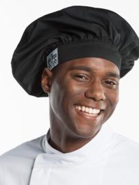 Koksmuts - Chaud Devant - Chef Hat Nero - one size
