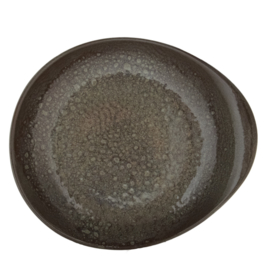 Pasta bord Pebble diep 27.5 cm - Continental Moon - Forest Green
