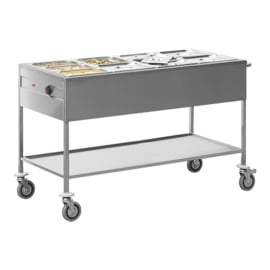 Gastronorm bain-marie wagen 4/1 GN - Max Pro
