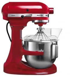 KitchenAid K5 Heavy Duty rood