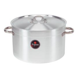 Kookpan Pujadas - aluminium hoog/middelhoog model met deksel