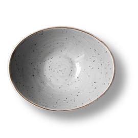 Schaal Salsa diep 18 cm - Continental Rustic grijs