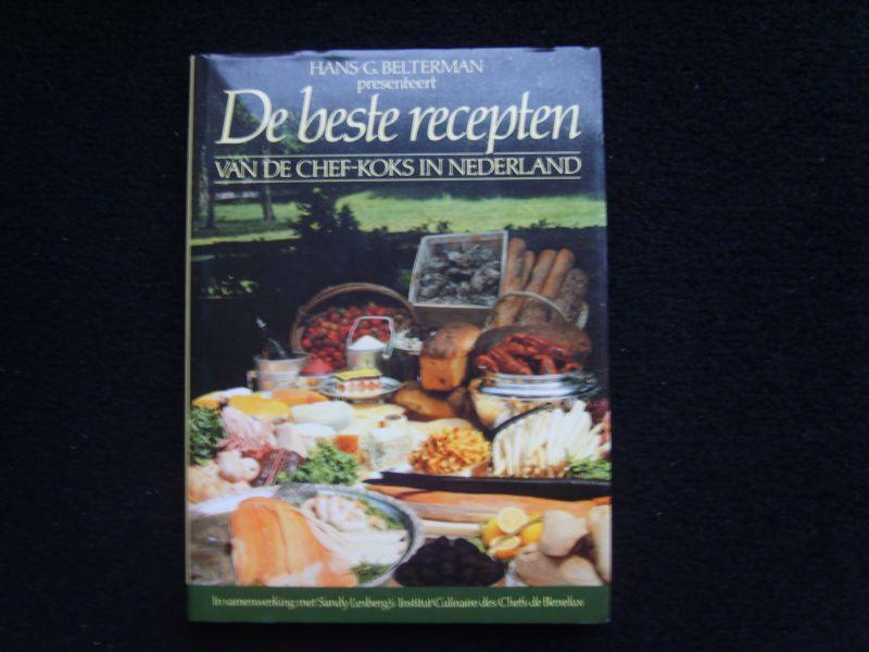 De Beste Recepten Van De Chef Koks In Nederland Hans G