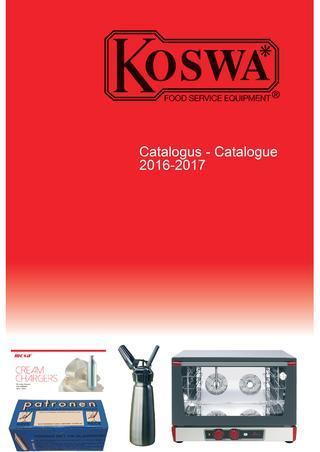 Koswa Koster 2019 catalogus