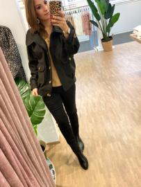 Oversized jacket - zwart H190