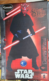 Star Wars Darth Maul muursticker uit vinyl, levensgroot van Fathead, zelfklevend, Super kwaliteit, B.1,25m H. 2,00m
