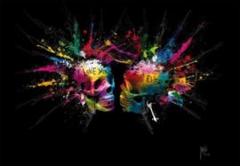 Patrice Murciano - Fotobehang Lovers - B366 x H253 cm - Multicolor
