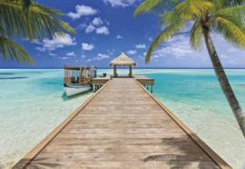 Komar Beach Resort Fotobehang B 368cm x H 254cm