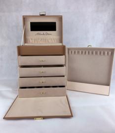 Luxe sieradenkoffer van Aleksander Sternen in 3 kleuren