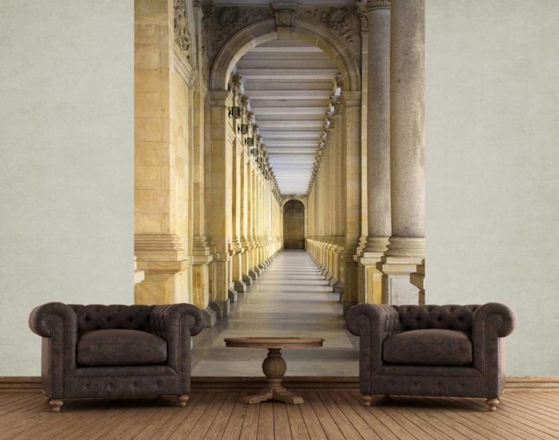 Fotobehang Colonnade b1,58cm x h2,32cm