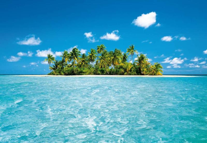 W & G Fotobehang Maldive Dreams - 8 delig B 3,66m x H 2,54 m