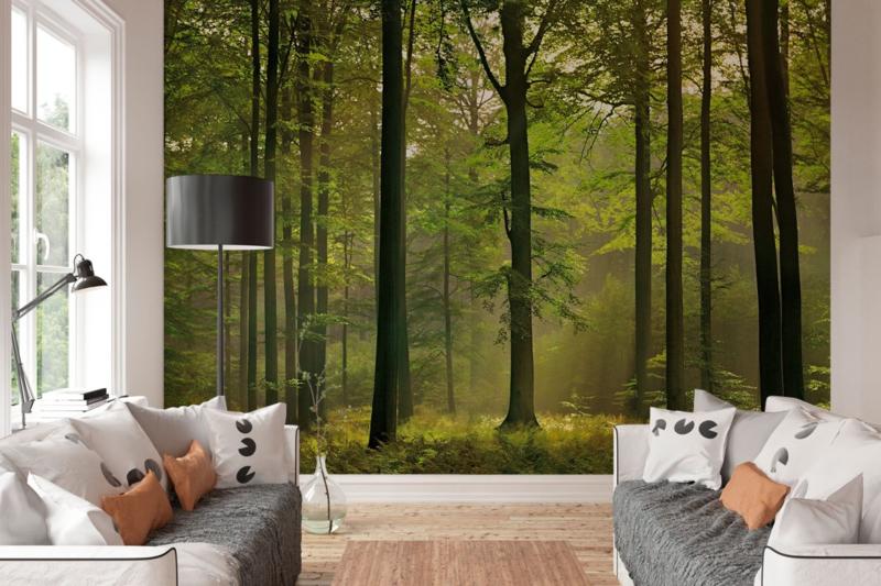 W+G Behang Ideal Decor Mural Autumn Forest B3,66m x H2,54m