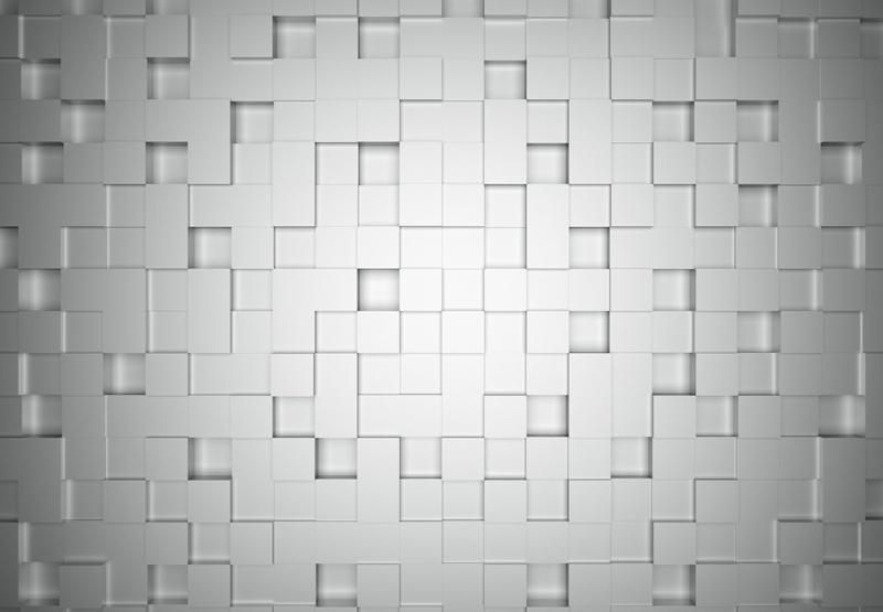 Wizard+Genius Cubes Fotobehang B 366cm x 254cm