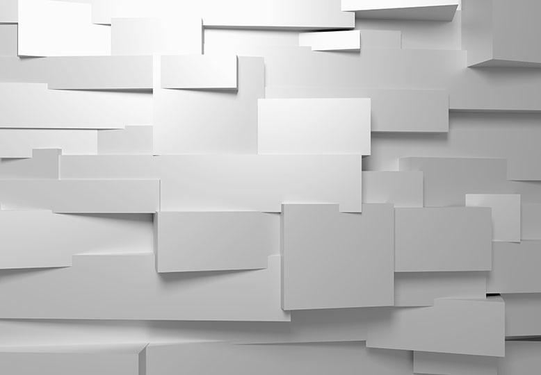3D muur - Fotobehang B 366 x H 254 cm